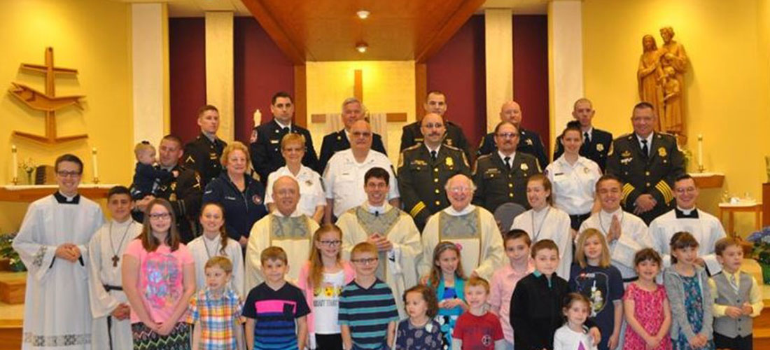 Blue Mass for First Responders