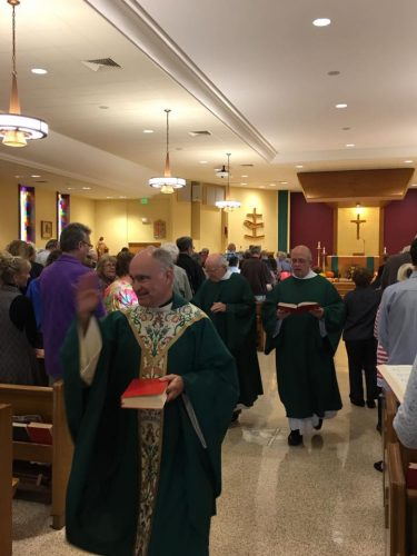 Fr. Marty's Homecoming Mass